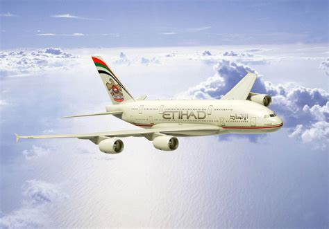 Etihad Airways' A380 Aircraft takes to the Skies for Test Flight