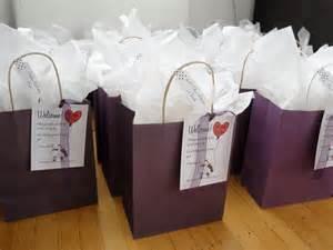 wedding hotel bags diy