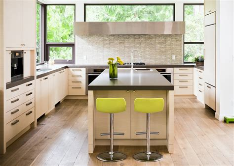 consulting cuisine modern counter stools kitchen contemporary with acid green