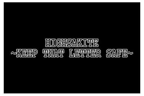 highasakite keep that letter safe download
