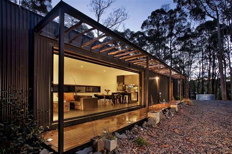 musk bunker modern prefab cabin  modscape