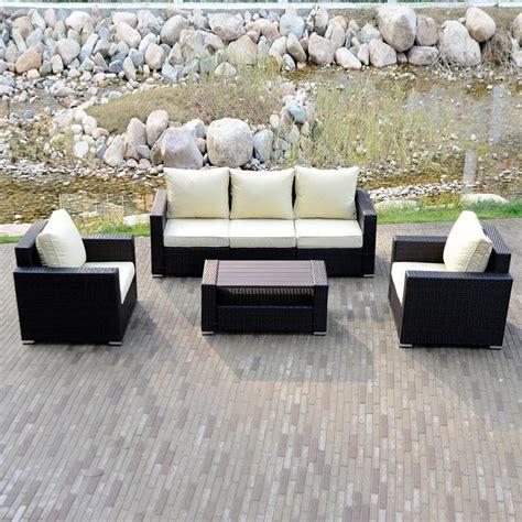 Outdoor Sofa Ebay by Diy Outdoor Patio Sofa Sectional Furniture Pe Wicker