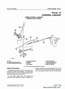 John Deere 4440 Tractor Technical Manual Tm1182 Pdf