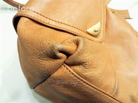 how to clean leather how to clean a leather purse angela says