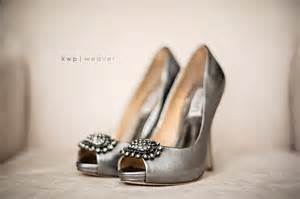 silver shoes for wedding wedding photography detail silver wedding shoes onewed