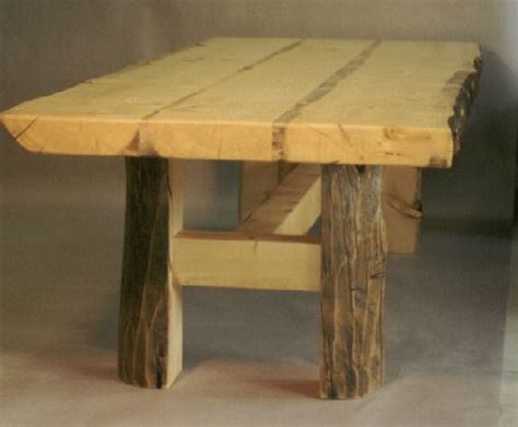 fine woodworking trestle table big idea