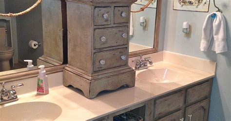 chalk paint techniques for cabinets bathroom vanity makeover with annie sloan chalk paint