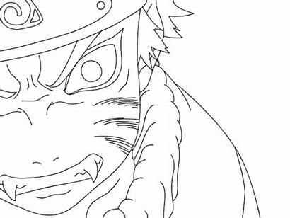 Coloring Naruto Pages Nine Fox Tailed Xbox