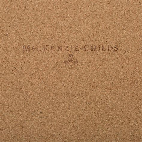 cork back buy mackenzie childs parchment check cork back placemats set of 4 amara