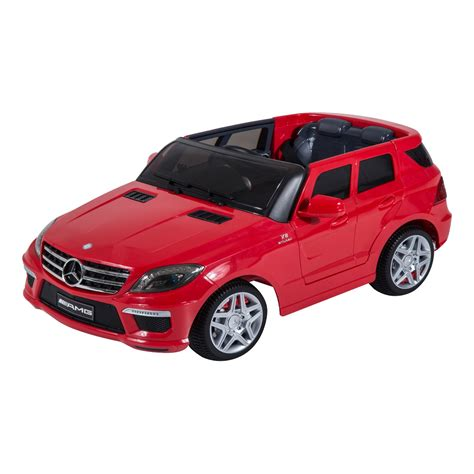 ride on car mercedes benz ml63 12v kids electric ride on car with mp3