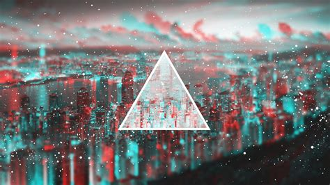 triangle polyscape photo manipulation city cityscape