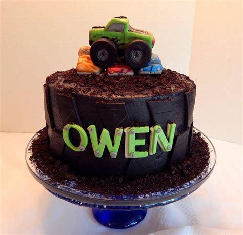 monster truck tire cake cakecentralcom