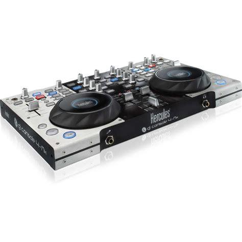 hercules dj console 4 mix hercules dj console 4 mx table de mixage hercules sur