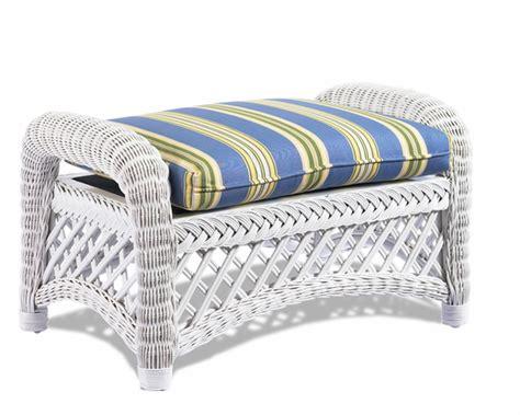 white wicker chair and ottoman white wicker ottoman lanai wicker paradise