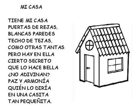 La Casa Poeta by 19 Best Images About Poemas Con Pictogramas On