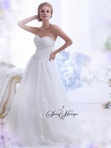 Robe Mariage Dentelle : robes de mariee princesse bustier jupe en tulle et ~ Mglfilm.com Idées de Décoration