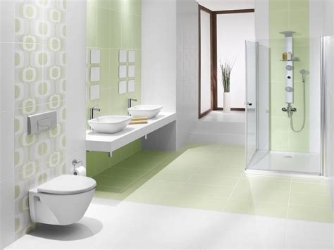 Light Green Tiles Bathroom by Bring Green Color To Your Bathroom With Tiles