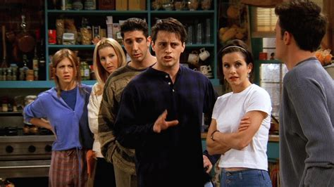 Friends The One Where Chandler Can't Remember Which Sister (1997)  Backdrops & Stills — The