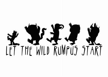 Wild Things Rumpus Let Decal Thing Quotes