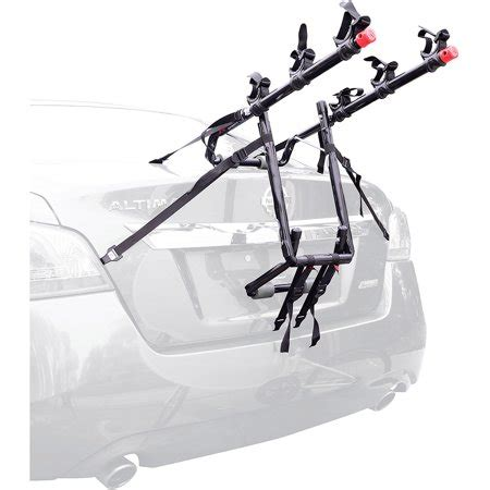 bike rack walmart allen sports 103dn deluxe 3 bike trunk mounted bike rack