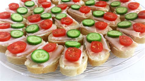 canapes for smoked turkey canapes valya 39 s taste of home