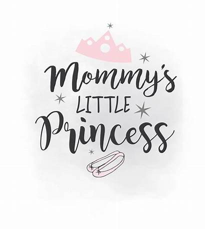 Princess Svg Clipart Mommy Quote Mommys Nursery