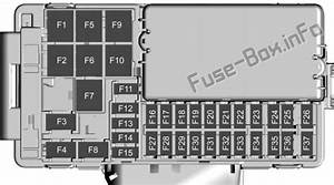 Fuse Box Diagram Chevrolet Cruze  J400  2016