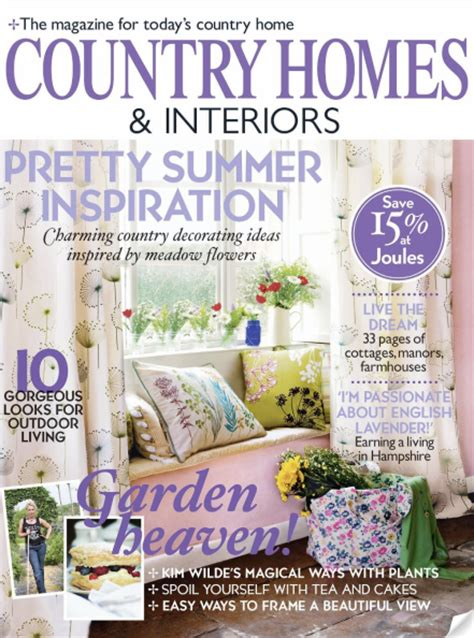 home and interiors magazine magazine review country homes and interiors june 2010