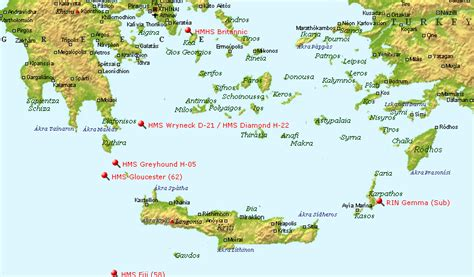 Where Did The Lusitania Sink Map by May 2013 Liners