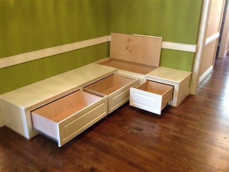 Counter Height Storage Bench