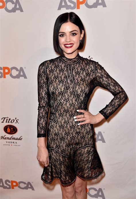 LUCY HALE at ASPCA 20th Annual Bergh Ball in New York 04 ...