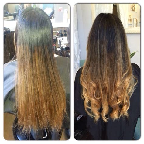 Color Correction From A Bad Ombré To Beautiful Balayage Yelp