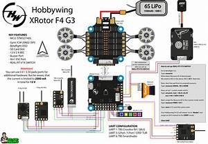 Hobbywing Xrotor Micro 60a 4in1 Esc F4 G3 Fc Stack Combo