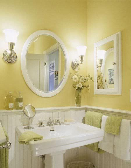 Bathroom Ideas Yellow Walls by 10 Best Paint Colors For Small Bathroom With No Windows