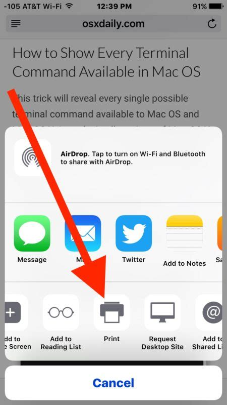 How To Print To Pdf On Iphone With 3d Touch