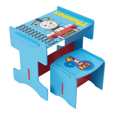 the tank engine wooden desk stool furniture