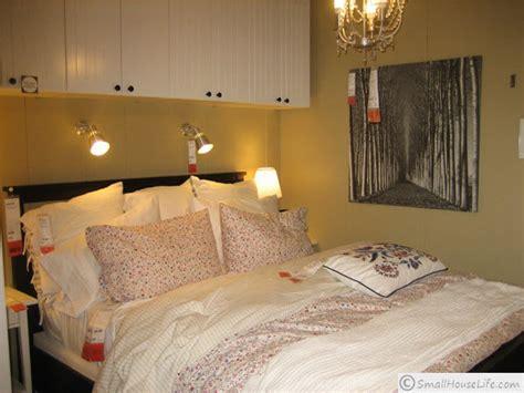 ikea master bedroom ikea small house plan 621 square feet 11867   IKEA 621 Master Bedroom2