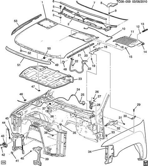 Front Kes Chevy Trailblazer Parts Diagram Electrical