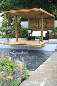Jardin Avec Bassin : d coration de jardin avec une fontaine pour bassin ~ Melissatoandfro.com Idées de Décoration