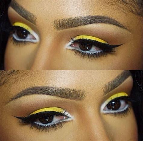 love mi eyes  yello eyeshadow gota learn  work