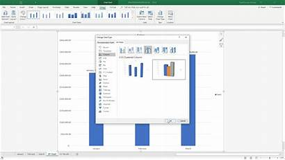 Excel Chart Change Type Changing Selected Instructions