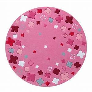 Tapis chambre bebe 29 tapis vraiment craquants for Tapis rond chambre fille