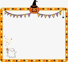 great halloween themed page border  halloween