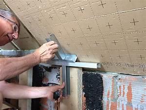 Pose De Placo Sur Rail : pose rail placo sur plafond en pente ~ Carolinahurricanesstore.com Idées de Décoration