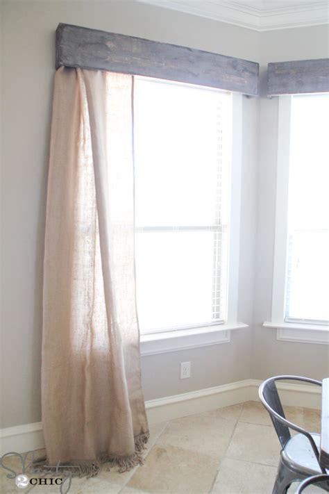 window valances and cornices diy wooden window cornice shanty 2 chic