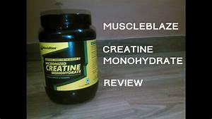 Muscleblaze Creatine Monohydrate Review