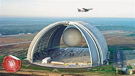 Top 10 Biggest Manmade Structures Youtube