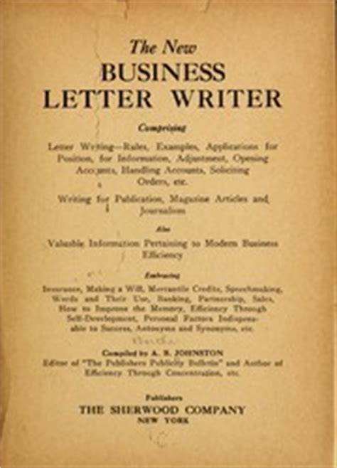 open when letters the new business letter writer 1920 edition open library 33023