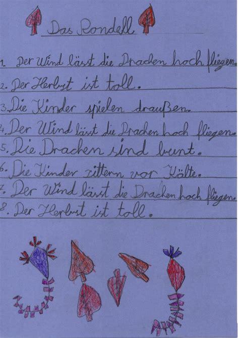 herbst gedichte der klasse  janosch grundschule