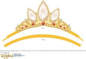 Tangled Rapunzel Crown Printable